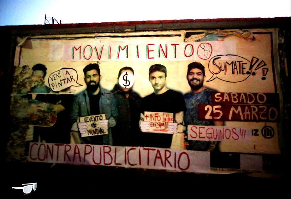 Proyecto Squatters organised a workshop on creativity and adbusting activism (Buenos-Aires, Argentina)