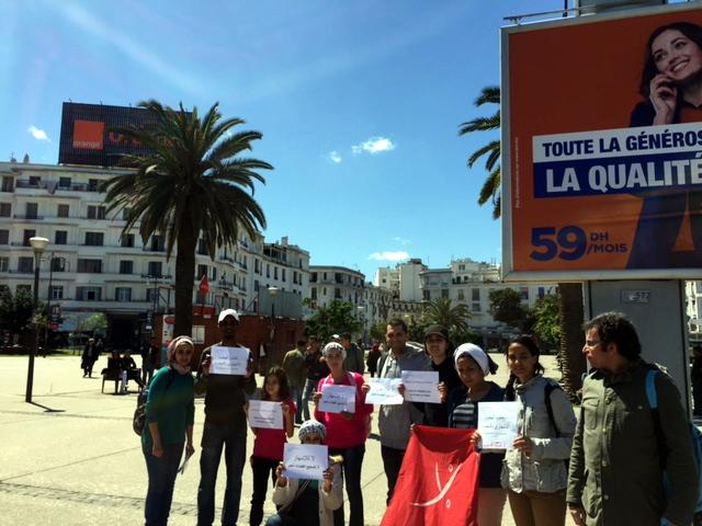 Marocco Symbolic Action At Casablanca
